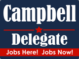 Update from Delegate Jeff Campbell – 01/13/2015